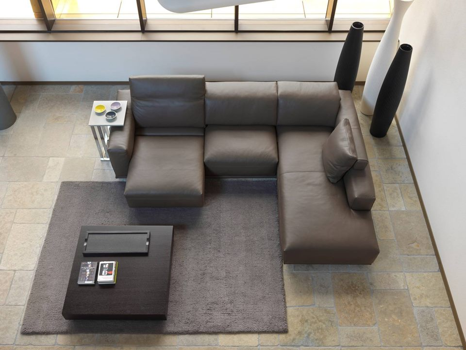Sofa da Ý mang lại vẻ đẹp sang trọng, đẳng cấp cho phòng khách.