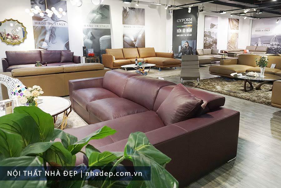 Sofa Gyform trưng bày tại Nội thất Nhà Đẹp 4